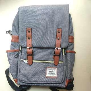 100%全新灰色背囊休閒背包grey backpack bag Brand NEW