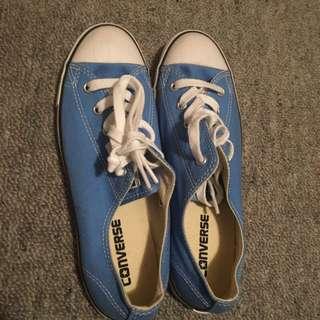 Baby Blue Chucks