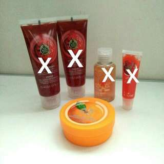 Rm15 Each The Body Shop Products