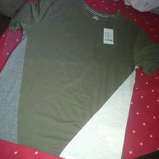 50% OFF BNWT RedTag Man Army Green with Deets Shirt