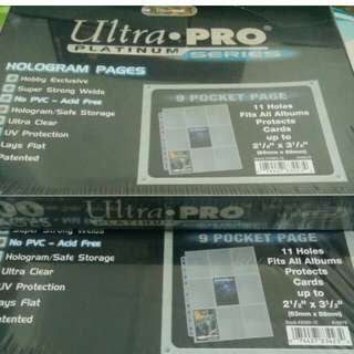 (READY STOCK) Card Pages ( Ultra Pro..)