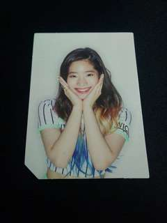 [Photocard] TWICE Dahyun Page Two Flower Edition