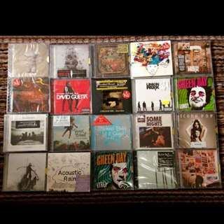 💿REPRICED Assorted CDs🎤💿