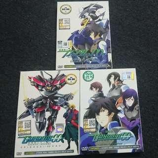 DVD Anime GUNDAM 00 Season 1-2+movie (subtitles Malay/Chinese/English)