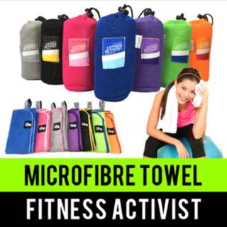 Microfibre Towel Compact Size #Flashsale11