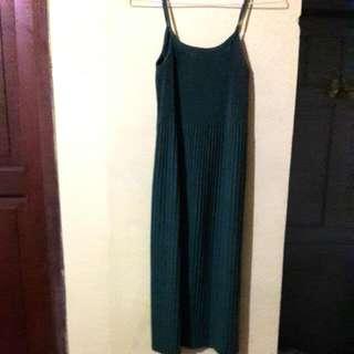 Long Dress Plisket Size L