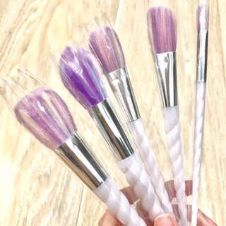 NEW UNICORN MAKE BRUSH x5 SET