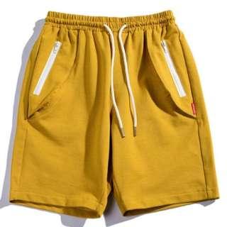 降‼️Universe嚴選男裝 黃色褲子