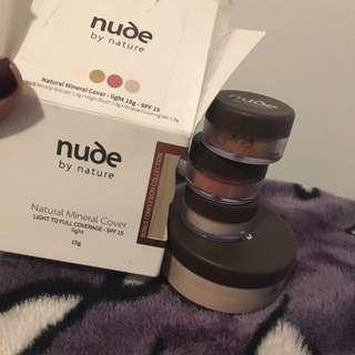 Nude By Nature Natural Mineral Cover Set