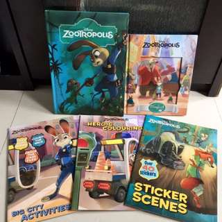 Disney Zootopia Book Set / Buku Disney Zootopia
