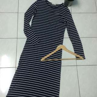 Stripe Padini Long Top