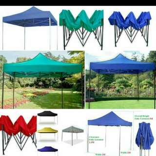 Retractable Tents & Collapsible Tents