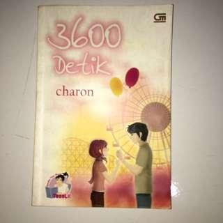 novel 3600 detik