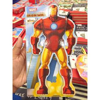 Board Book Iron Man / Buku Iron Man