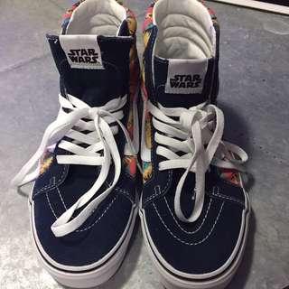 Star Wars X Vans Sk8-hi Yoda Aloha Skate Shoes