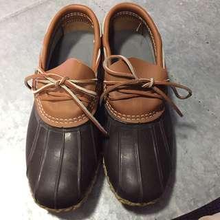 Men's Bean Boots By L.L Bean Rubber Moc