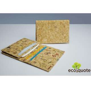 EcoQuote Cards Holder Handmade Cork Material