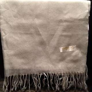 White Silk Shawl