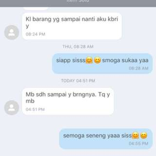 another happy costumer 🤗😊😍😃 yeay