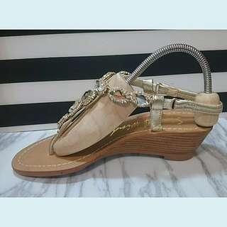 Angel's Ballet 楔型寶石涼鞋