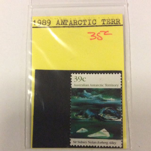 1989 Australian Antarctic Territories