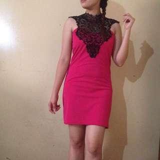 Fushcia Pink Dress