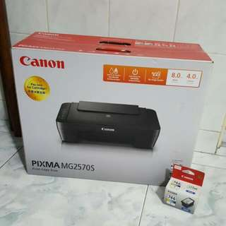 Canon PIXMA MG2570S Printer