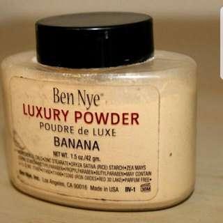 Ben Nye Banana Loose Powder