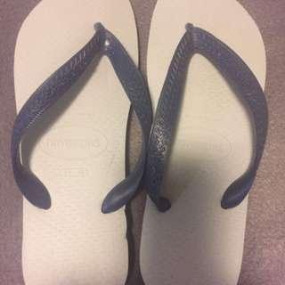 havaianas thongs 39-40