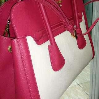 Prada Push Pink And White