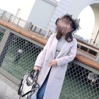 Thin Wool Coat