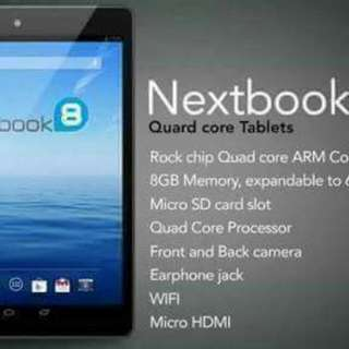 Next book Tablet