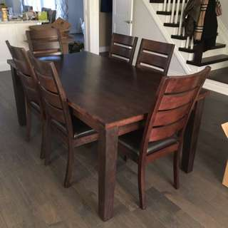 7 Piece Dining Set For Sale