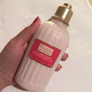 NEW!! L'Occitane Roses et Reines Beauitfying Body Milk