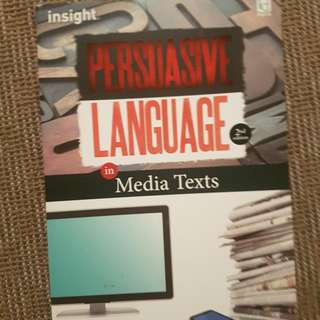 Persuasive Language In Media Texts 2nd Edition