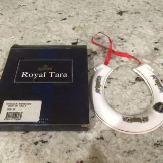 Royal Tara fine china Good Luck Horseshoe