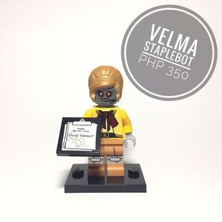 Lego Minifigure Velma Staplebot