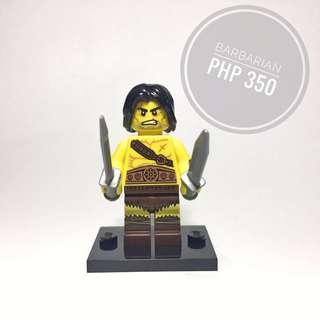 Lego Minifigure Barbarian
