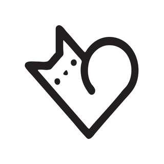 Cat love Vinyl Decal Sticker