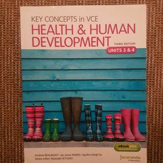 Key Concepts In VCE Health And Human Development Units 3 And 4 3rd Edition
