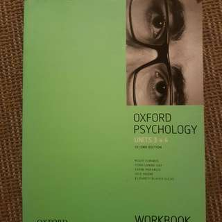 Oxford Psychology Workbook Units 3 and 4 2nd Edition