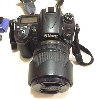 Nikon D7000 W/ Kit Lens 18-105mm