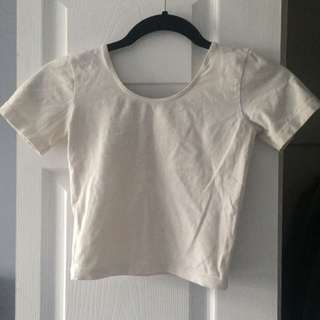 Small American Apparel Crop Top