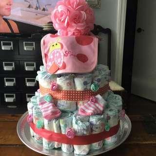 Amazing Readymade Diaper Cakes