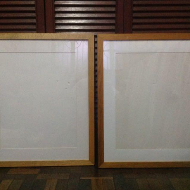 24x28 Classic Wood Frame (walnut)