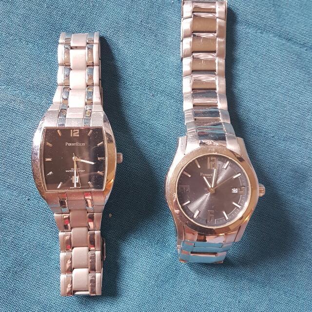 2 Men's Watches