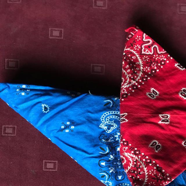 2 x rockabilly bandanas