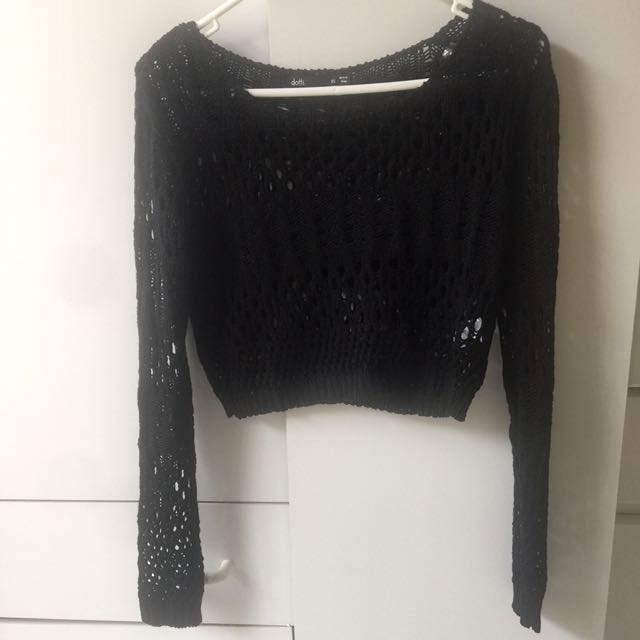 2x Crop Knit Jumpers