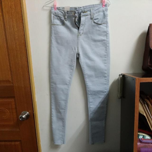 (全新)淺藍色牛仔褲