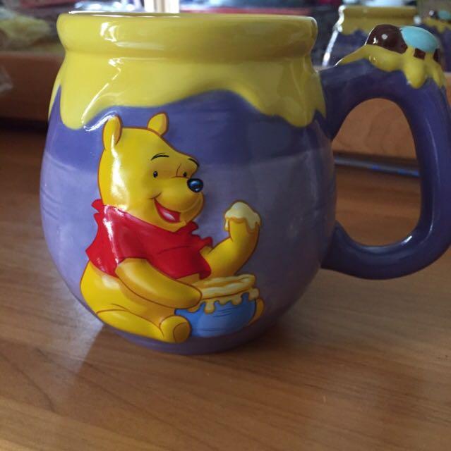 小熊維尼杯子
